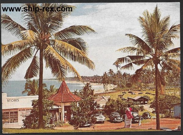 Sri Lanka - Mount Lavinia Beach Resort, postcard
